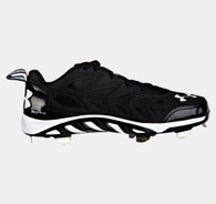 Under Armour Men's UA Spine Metal Baseball Cleat Black