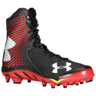 Under Armour Men's UA Spine™ Brawler Football Cleats Red