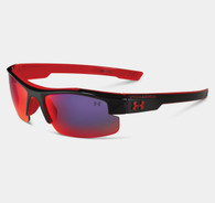 Under Armour Kids' UA Nitro L Sunglasses Shiny Black