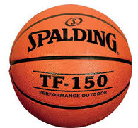 "Spalding TF-150 Rubber Basketball (Mens 29.5"")"