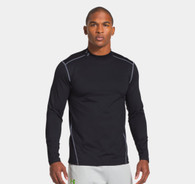 Under Armour UA Men's ColdGear® Evo Fitted Mock - Black (001)