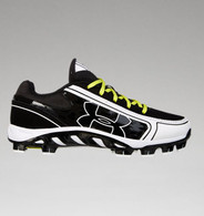 Under Armour UA Women's Spine Glyde Softball Cleat Black