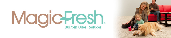 MagicFresh with built in odor reducer carpet