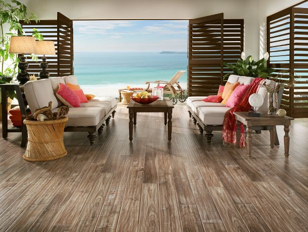 Coastal Living L3063 White Wash Walnut Boardwalk Armstrong