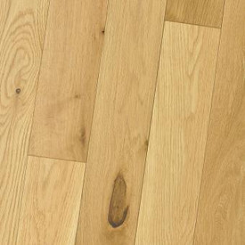 HomerWood - White Oak Natural (Oil Finish) - Wire Brushed