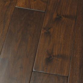 HomerWood Amish Soft Scraped Black Walnut Demitasse Hardwood Flooring