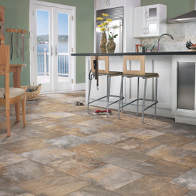 Broadmor - B2051 Golden Gate - Vinyl Sheet Flooring By Congoleum