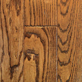American Hardwood Flooring 3/4 x 5  Color:  17537 Oak Saddle Handsculpted