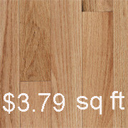 "Capital Plank Red Oak Natural - 3 1/4"" 1st Quality"