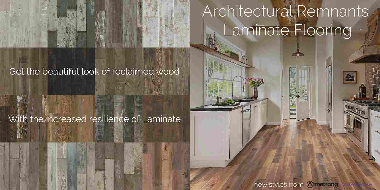 Shop the most beautiful reclaimed wood looks on laminate floors today!