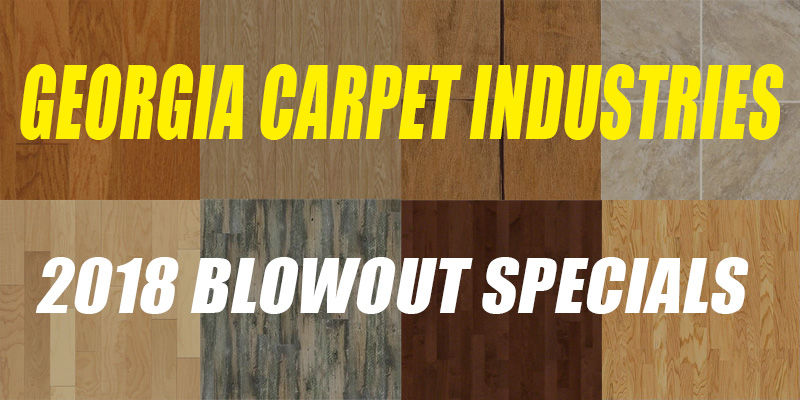 2018 Blowout Sale Small Lot Specials!