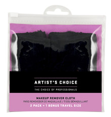 ARTIST'S CHOICE - Makeup Remover Cloth - 2 Pack + 1 Travel Size