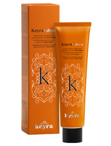 KEYRA - Permanent Color with Keratin 100ml - Red Shades