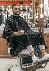 BARBER STRONG - The Barber Cape - Barber Shield 24k Gold