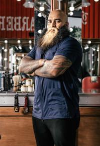 BARBER STRONG - The Barber Jacket - Blue
