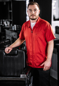 BARBER STRONG - The Barber Jacket - Red