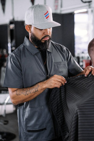 BARBER STRONG - The Barber Jacket - Gunmetal Grey