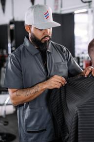 BARBER STRONG - The Barber Jacket - Gunmetal Grey