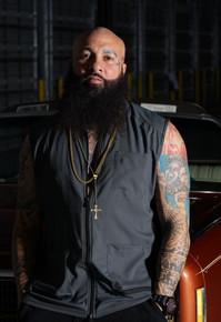 BARBER STRONG - The Barber Vest - Black