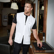 BARBER STRONG - The Barber Vest - White