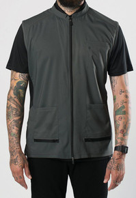 BARBER STRONG - The Barber Vest - Gunmetal Grey
