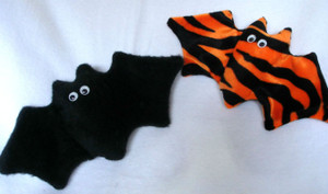 Floppy winged catnip filled bats!