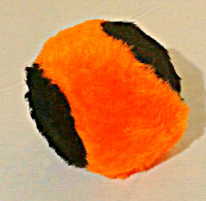 Fun baseball sized Hallow-ball is filled with catnip, and will keep your pet playing for a long time!