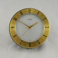 Desk Clock World Time Quartz Gold The Sydney Clock