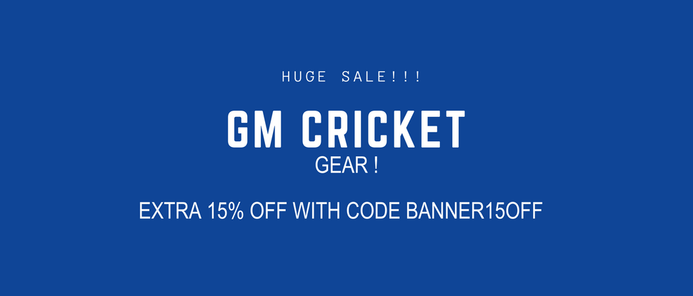 gm cricket gear sale
