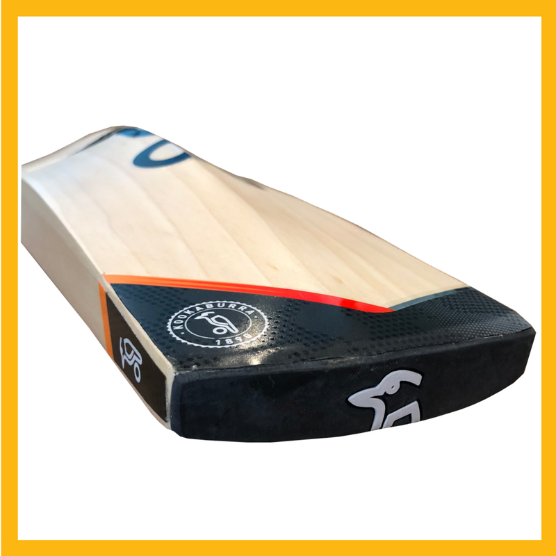 kookaburra blaze pro cricket bat toe details 2018