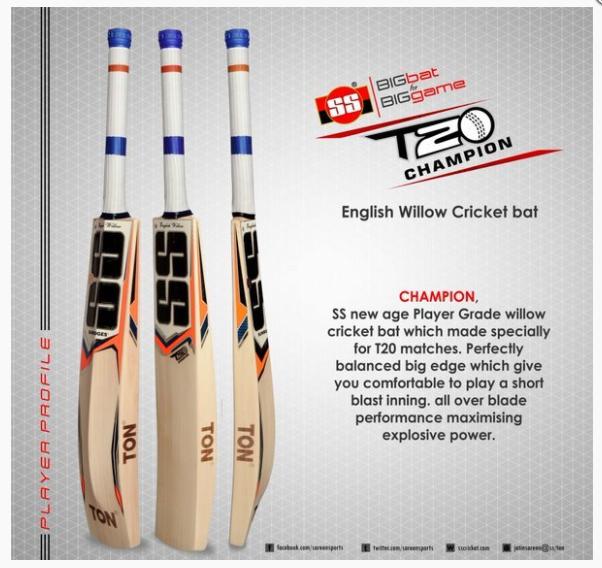 ss t20 cricket bats
