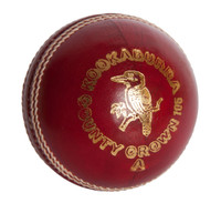 Kookaburra County Crown Cricket Ball - Red