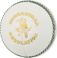 Kookaburra Regulation Cricket Ball - White