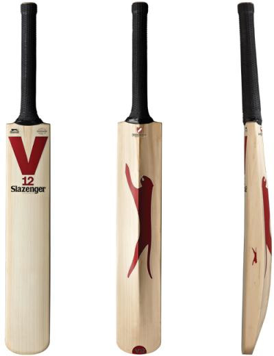 lazenger V12 Limited Edition Cricket Bat 2014 - All View