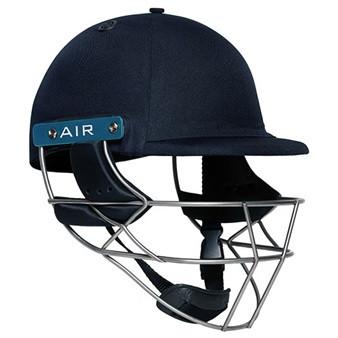 Shrey Master Class AIR Steel Cricket Helmet - Navy