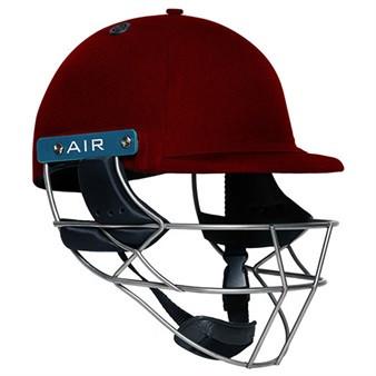 Shrey Master Class AIR Steel Cricket Helmet - Maroon