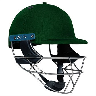 Shrey Master Class AIR Steel Cricket Helmet - Green