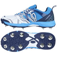 KB Pro 770 Spike Sole Cricket Shoes 2017 in Blue color