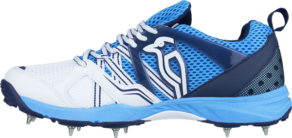 KB Pro 770 Cricket Shoes Side View with KB Logo
