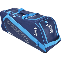 KB Pro 2500 Wheelie Cricket Kit Bag with Blue and Cyan Color Combination for 2017 year range