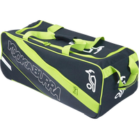 KB Pro 1500 Wheelie Kit Bag in 2017 Black & Green front view