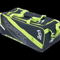 KB Pro 1500 Wheelie Kit Bag in 2017 Black & Green front view