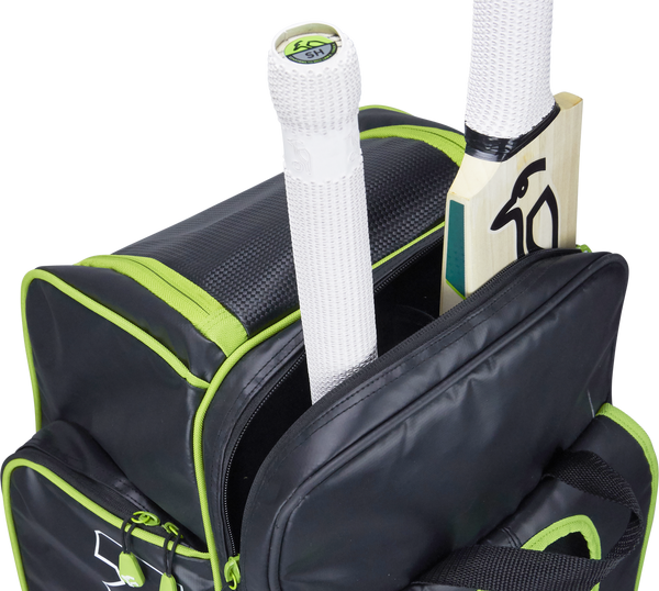 Kookaburra Pro D1 Duffle Bag - black/green 2017 bat cave