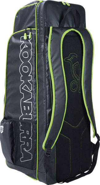 Kookaburra Pro D1 Duffle Bag - black/green 2017 rear view