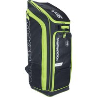 Kookaburra Pro D5 Duffle Bag - black/green 2017 front view
