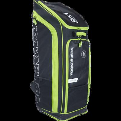 Kookaburra Pro D5 Duffle Bag - black/green 2017 front view