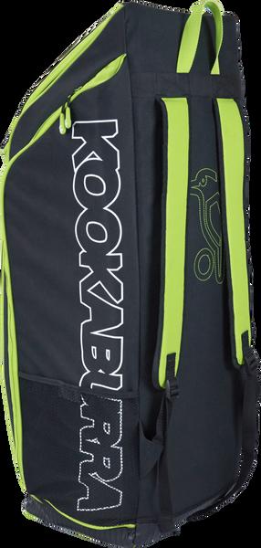 Kookaburra Pro D5 Duffle Bag - black/green 2017 rear view
