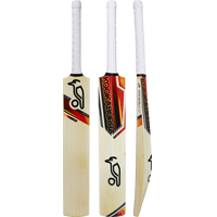 Kookaburra Blaze Pro Cricket Bat 2017 Front, Back and Edge View