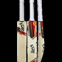 Kookaburra Blaze Pro Cricket Bat 2017 Front, Back and Edge View