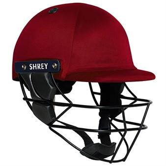 Shrey Armour Cricket Helmet - Maroon Image
